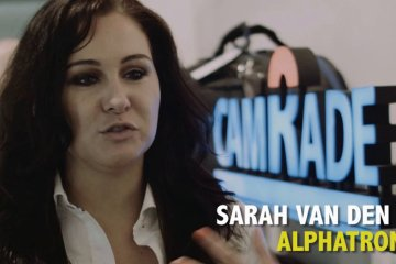 Camrade and Alphatron at IBC 2014 from Film Cyfrowy