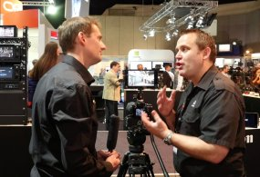 IBC 2014 Jeromy Young Atomos from Stephen Pritchard