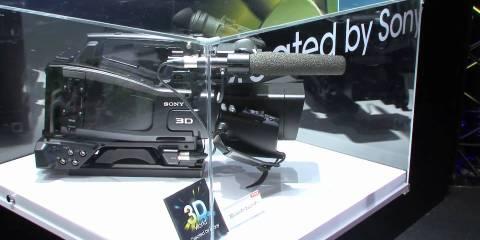 Sony Twin Lens Shoulder Mount 3D ENG Camera:
