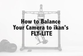 Balancing ikan's FLY-LITE from ikan