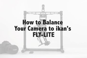 Balancing ikan's FLY-LITE from ikan