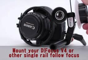 D|Mount Single Rail Follow Focus Mount Demo