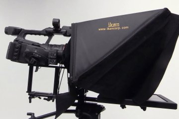 Out of the Box: PT3500 and PT3700 | 15″ and 17″ Rod Based Location/Studio Teleprompter from ikan