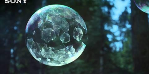 Sony 4K Ultra HD TV – Ice Bubbles in 4K
