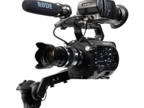 Alphatron EVF Bracket for the Sony FS7 and AJA CION Cameras