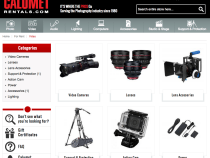 Calumet Photo is back… This time as a camera and lens hire company Calumet Rentals