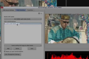 ARRI Tech Talk: Viewing ALEXA Log C files in Media Composer 8.1