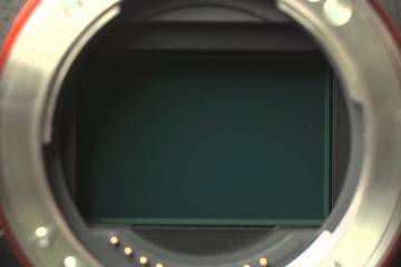 Sony A7 II SteadyShot in action… Watch That Sensor Move