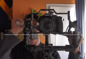 Acromovi Brushless Gimbal Shake That Chickenhead Test = Rock Solid