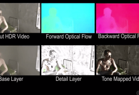 Temporally Coherent Local Tone Mapping of HDR Video from Disney Research Hub