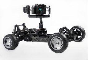 GroundRig… a remote controlled Gimbal Car Camera Rig