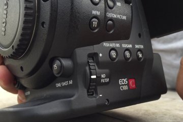 C100 Mark 1 Assigned Buttons When Used on Brushless Gimbals from Eduardo Gonzalez