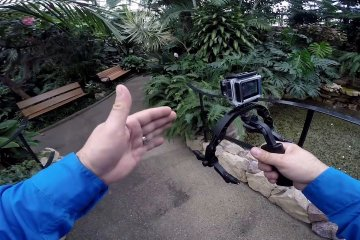 Flying your GoPro on the Morpheus Stabilizer from Cinevate