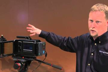 Information Overdrive: BlackMagic Design URSA Camera from Crews Control