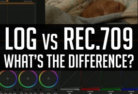 Log LUTs vs. 709 LUTs – What's The Difference? from Casey Faris
