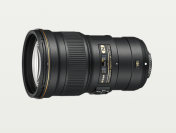 AF-S NIKKOR 300mm f/4E PF ED VR Lens With PF Phase Fresnel lens element