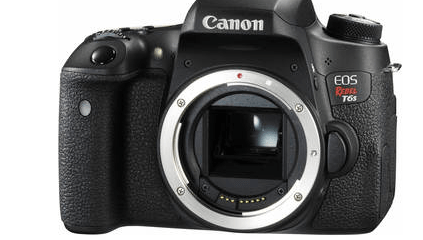 Canon EOS Rebel T6s DSLR Camera