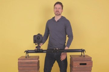 Cinevate Hedron Slider – Mounting Options Plus Fly-Wheel Overview