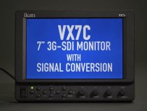 "VX7c 7"" 3G-SDI Monitor with Signal Conversion from ikan"