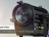 White Star LED Fresnel Lights from ikan