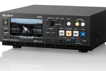 Sony 4K HD SxS memory player PMW-PZ