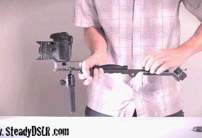 Steadycam & Shoulder Rig DSLR Video Camera Stabilizer System – www.SteadyDSLR.com