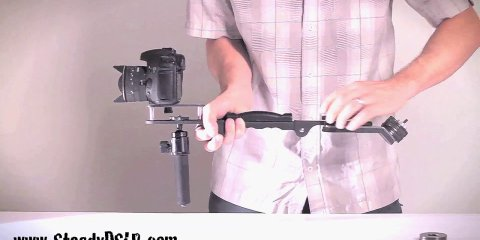 Steadycam & Shoulder Rig DSLR Video Camera Stabilizer System – www.SteadyDSLR.com