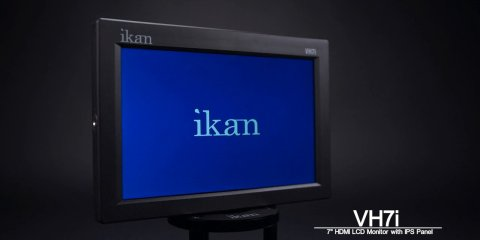 VH7i-1 7″ HDMI LCD Monitor with IPS Panel from ikan