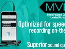 Shure Phone Microphone: MOTIV MVL Lavalier Mic