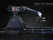Mark Roberts Motion Control First Time Demonstrating BOLT on a Track at Cine Gear Expo