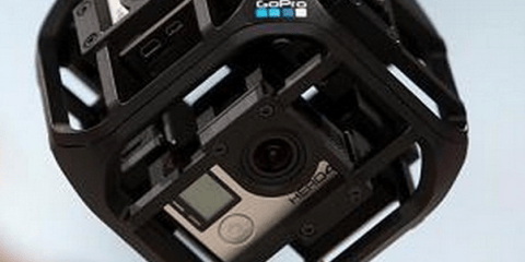 GoPro spherical Camera