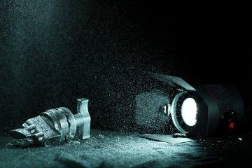 Fiilex Lights and a Phantom Flex Camera in 4K