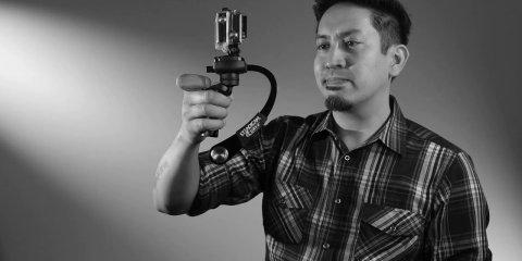 Steadicam Curve Balance Video with Go Pro Hero 4 Black
