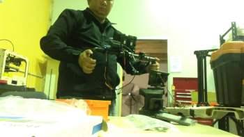 Sneak Peek: Prototype Motion Gimbal Control from Coptercam