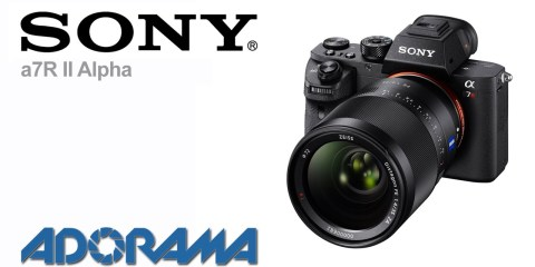 Sony a7R II Mirrorless Camera: Product Overview with Alex DePew and Adorama