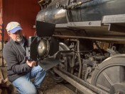 DP Stephen Hussar Documents Locomotive Restoration with Zylight