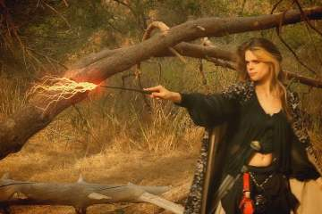 Lightning Wizard Effect from Boris FX