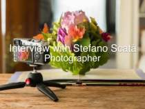 Manfrotto PIXI EVO – Interview with Stefano Scatà
