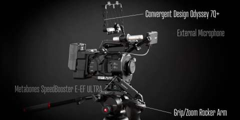 Our Sony FS7 Setup Timelapse from Alias Creative