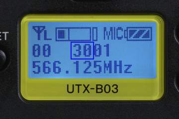 UWP-D & DWX Wireless Microphone Channels and Groups from Sony Professional USA