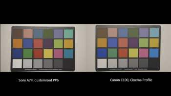 Custom Picture Profiles for Sony A7II – for use with Canon C100 and an alternative for S-Log2 (PP7)