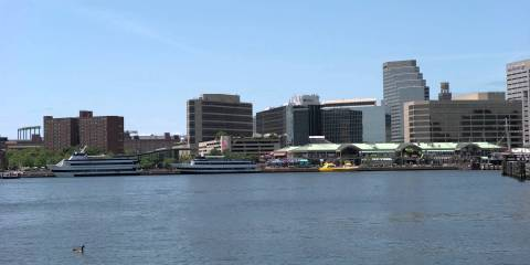 JVC GY LS300 4K Footage of Baltimore Harbor from Dave Bittner