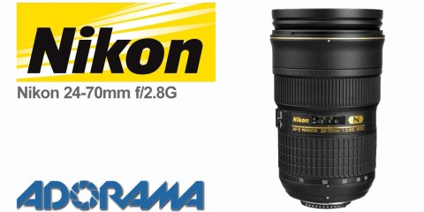 Nikon 24-70mm f/2.8G Lens Product Overview with Marcin Lewandowski and Adorama