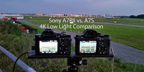 Sony A7R II Vs A7S 4K Low Light Comparison from 3D-Kraft
