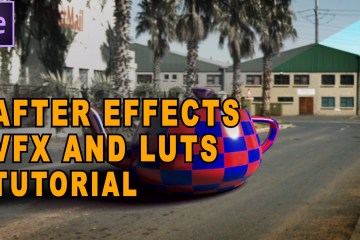 VFX, LUTS and Flat Picture Profiles an After Effects Tutorial from TunnelvizionTV