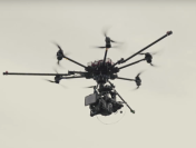 Drones With Sony CineAlta F55 4K Cameras Used While Filming Sony 4K Ultra HD TV TVC