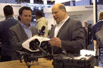 IBC 2015: A Look at the DJI ZENMUSE X5 from AbelCine