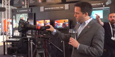 IBC 2015: A Look at the New RED WEAPON EVF & LCD from AbelCine