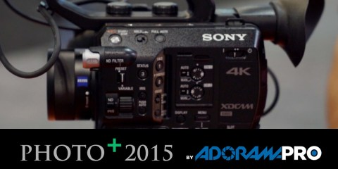 Adorama at PhotoPlus 2015 Looks at the Sony FS5 4K XDCAM Camera