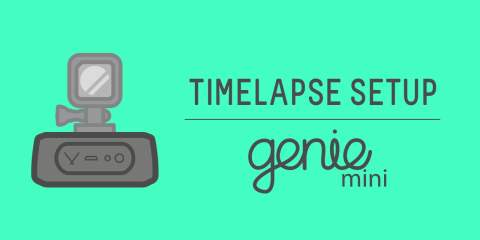 How to setup a timelapse – Genie Mini from Syrp